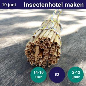 Insectenhotel maken @ NME-Centrum InBredius | Woerden | Utrecht | Nederland