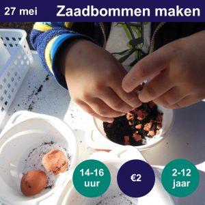 Zaadbommen maken @ NME-Centrum InBredius | Woerden | Utrecht | Nederland