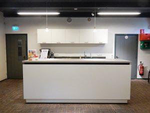 de nieuwe keuken